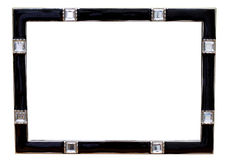 Black picture frame Royalty Free Stock Photography