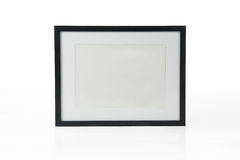Black picture frame Royalty Free Stock Photos