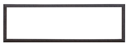 A black  picture frame Stock Image