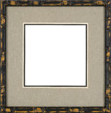 Black Picture frame Stock Image