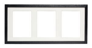 Black Picture Frame (with CLipping Path) Stock Photo