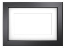 Black picture frame. Stock Photography