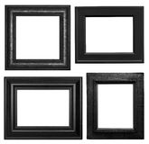 Black Isolated Frames Royalty Free Stock Images