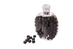 Black pills Royalty Free Stock Photo