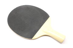 Black Ping Pong Paddle Stock Photography