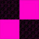 Black and pink Royalty Free Stock Images