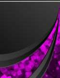 Black_and_pink_background Stock Image