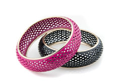 Black and Pink Bracelet 2 Stock Image