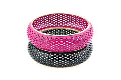 Black and Pink Bracelet Royalty Free Stock Photo