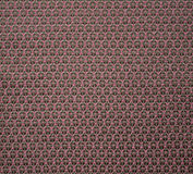 Black and pink fabric with geometric pattern Royalty Free Stock Photo