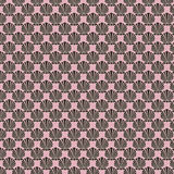 Black pink shell design repeatable pattern vector illustration