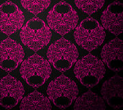 Black and pink wallpaper Stock Image