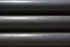 Black pipes Royalty Free Stock Photography