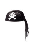 Black Pirate Hat Stock Image