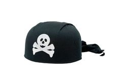 Black Pirate Hat Royalty Free Stock Photos