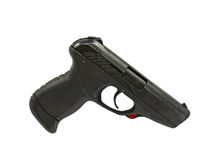 Black pistol. Stock Photos