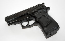 Black pistol Stock Image