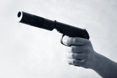 Black pistol Royalty Free Stock Image