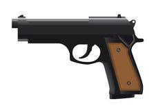 Black pistol Royalty Free Stock Photos