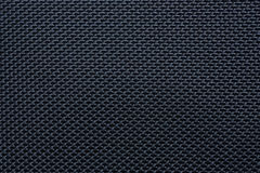Black plain fabric Stock Photos
