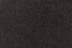 Black plain fabric, textile Royalty Free Stock Image