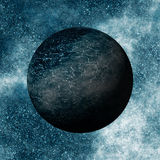 Black Planet. In its early evolutionary phase Stock Photography