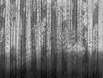 Black planks. Grunge display wall. Royalty Free Stock Photo