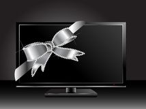 Plasma television Stock Photo