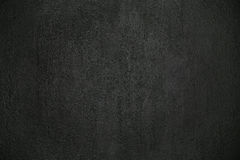 Black plastered wall Royalty Free Stock Photography