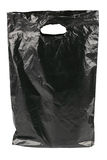 Black plastic bag Stock Photo