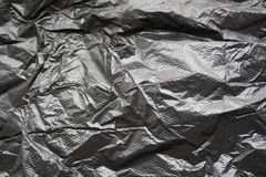 Black plastic bag Royalty Free Stock Image
