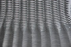 Black plastic basketwork in horizontal and vertical view Royalty Free Stock Image