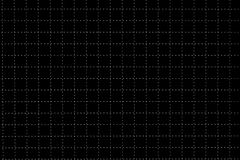 Black Plastic Board With Dotted Line Like As Graph Paper Royalty Free Stock Image