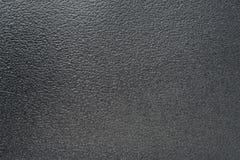 Black plastic leather sheet Stock Image