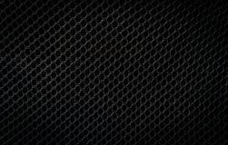 Black plastic  net Stock Photo