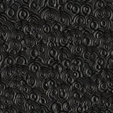Black Plastic Pattern Royalty Free Stock Images