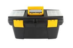 Black plastic tool box Royalty Free Stock Photos