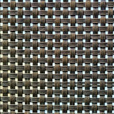 Black plastic weave as woven background texture Stock Photos