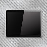 Black plate Royalty Free Stock Images