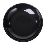 Black plate Stock Photo