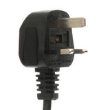 Black_Plug Royalty Free Stock Photo