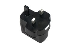 Black plug Stock Photography