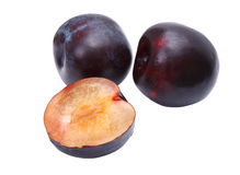 Black Plums Royalty Free Stock Photo