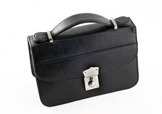 Black pochette for businessmen isolated Royalty Free Stock Photography