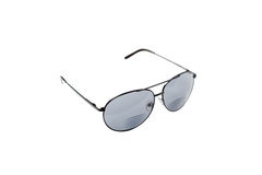 Black police sunglasses Stock Image