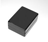 Free Black Polished Gift Box Stock Image - 22119081