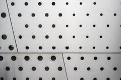 Black polka dot pattern on white background texture royalty free stock photography