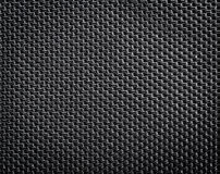 Black polyester texture Royalty Free Stock Photography