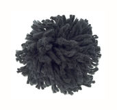 Black pompom Royalty Free Stock Image