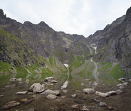 Black Pond, Tatra Mountains Stock Images
